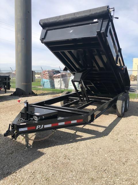 """2020 PJ DL 83"""" X 14' 14K GVWR Dump Trailer On Sale $7595"""