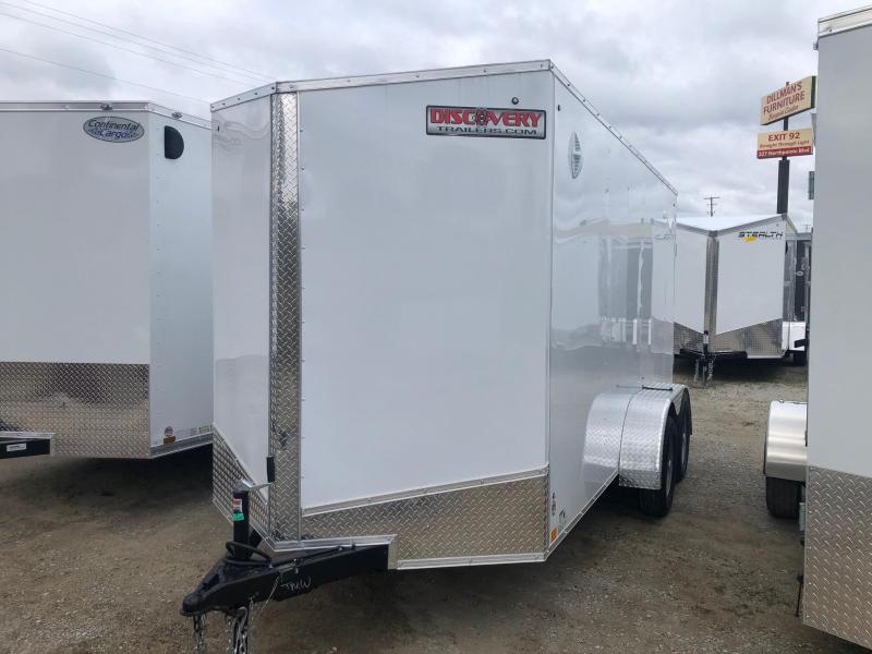 2021 Discovery Rover ET 6X14 7K GVWR Cargo Trailer $4190
