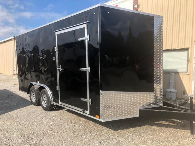 2020 Discovery Challenger ET 8.5X16 7K GVWR Enclosed Car Trailer $5075