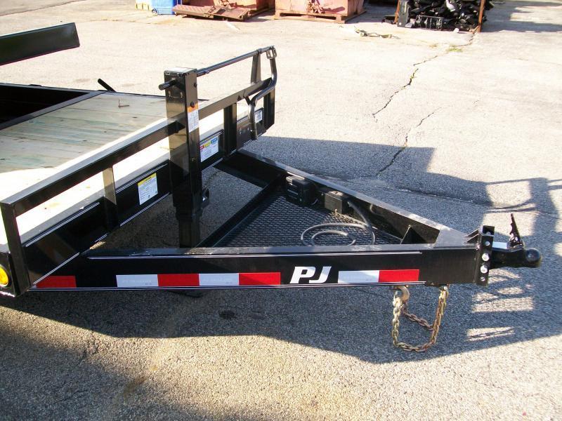 """2020 PJ T6 83"""" x 20' 14K GVWR Tilt Trailer  $6342"""