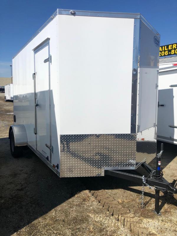 2021 Continental Cargo V-Series 6.5X12 Single Axle Cargo Trailer   $3420