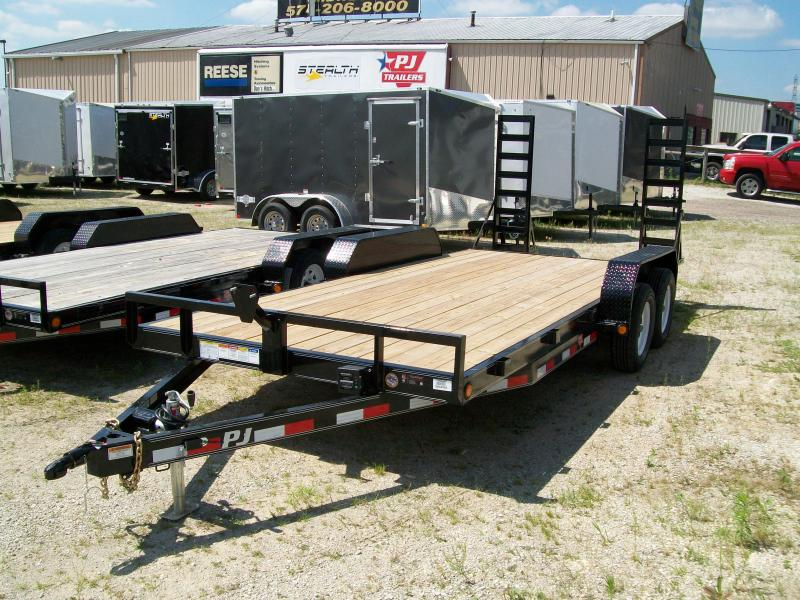 "2019 PJ C5  83""X18' 7K GVWR  Car/Equipment Trailer $3040"