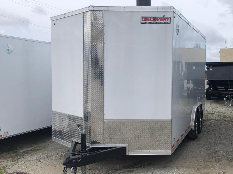 2020 Discovery Challenger SE 8.5 x 18 12K GVWR Enclosed Car Trailer