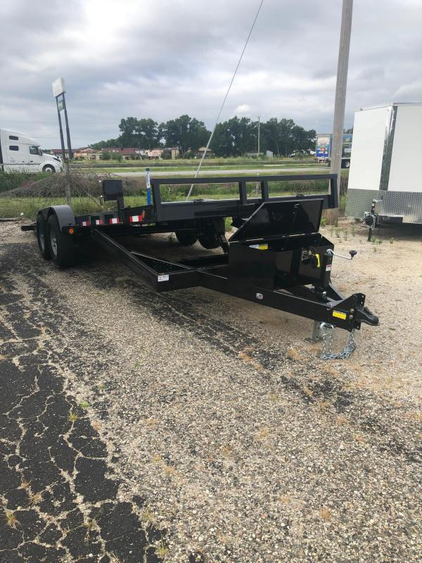 "2020 Quality Steel 83"" X 20' 10K GVWR Tilt Car Trailer  $4675"