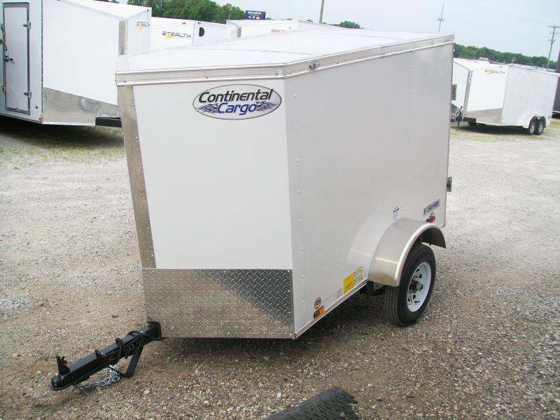 2020 Continental Cargo 4X6 Single Axle Trailer $1495
