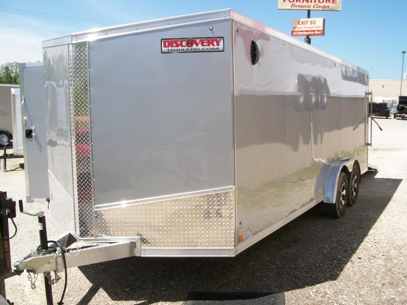 2020 Discovery Mission 7.5X20 7K GVWR Cargo Trailer $7479