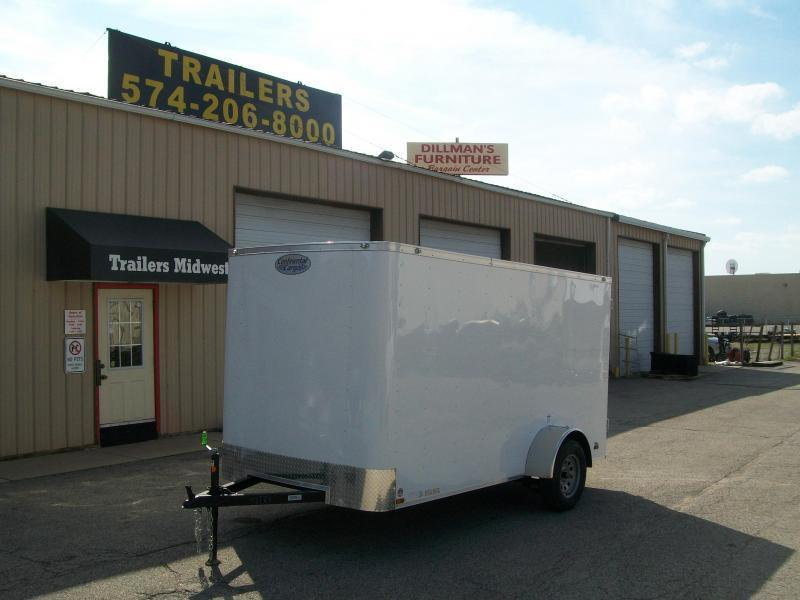 2020 Continental Cargo 6X12 Single Axle Trailer on Sale $2450