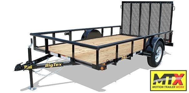 2020 Big Tex 6x12 6x12 35SA w/ 4' Spring Assist Tailgate