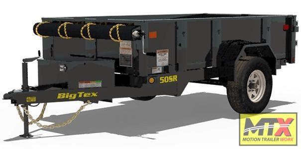 2020 Big Tex Trailers 50SR-8-5' w/ Double Doors Dump Trailer