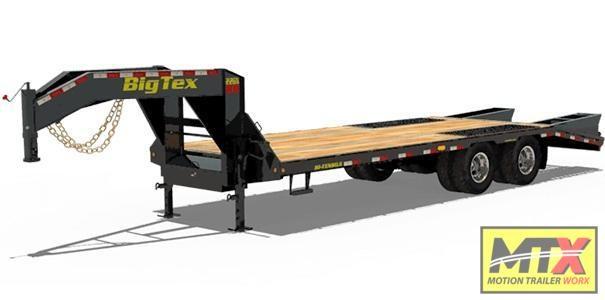 2020 Big Tex 20+5 22GN 20K Gooseneck w/ Mega Ramps 23900 GVWR