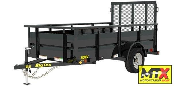 "2020 Big Tex  30SV-10 w/ 24"" Solid Sides and Ramp Gate"