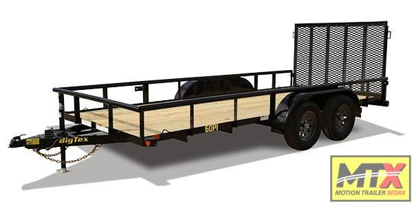 2020 Big Tex Trailers 60PI-14 w/ Gate