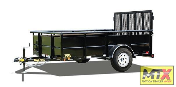 2020 Big Tex Trailers 35SV-10 w/ Solid Sides & Gate