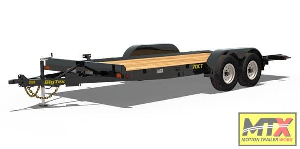 2019 Big Tex  70CT-20-Power Tilt Car / Racing Trailer
