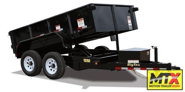 2020 Big Tex 6x12 90SR 10K Dump w/ Slide in Ramps