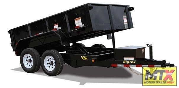 2020 Big Tex 6x10 90SR 10K Dump w/ Slide in Ramps