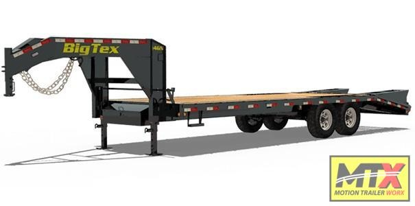 2020 Big Tex Trailers 20+5 14GN w/ Flip Over Ramps