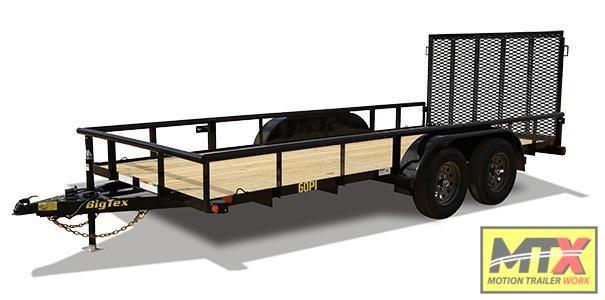 2020 Big Tex  60PI-12' W/ 4' Ramp Gate