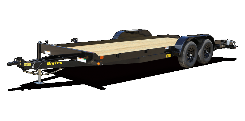 2020 Big Tex 20' 10CH 10K Trailer w/ Slide In Ramps