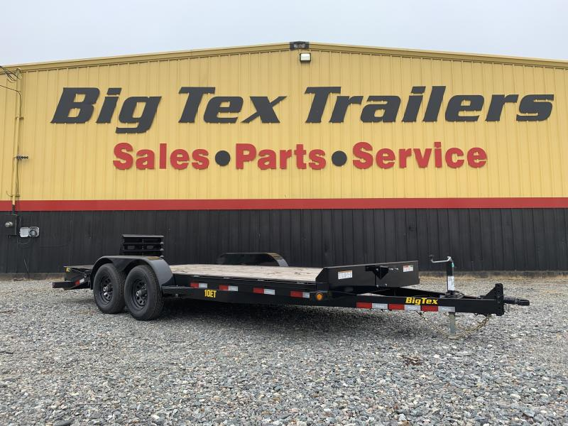 10ET-18' EQUIPMENT TRAILER- MEGA RAMPS