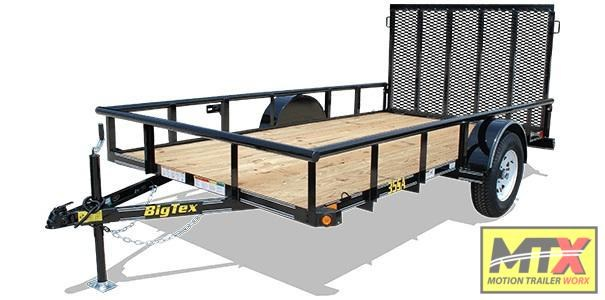 2020 Big Tex 35SA-12X w/ 4' Ramp Gate