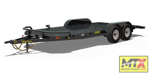 2020 Big Tex 18' 70DM Car Trailer