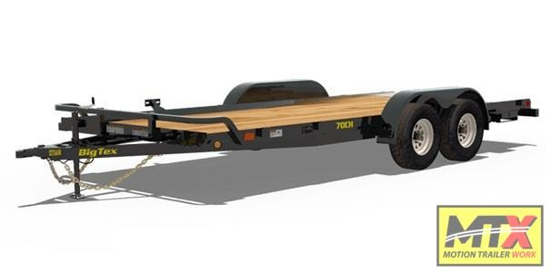 2020 Big Tex 70CH-20 w/ Dovetail Car / Racing Trailer