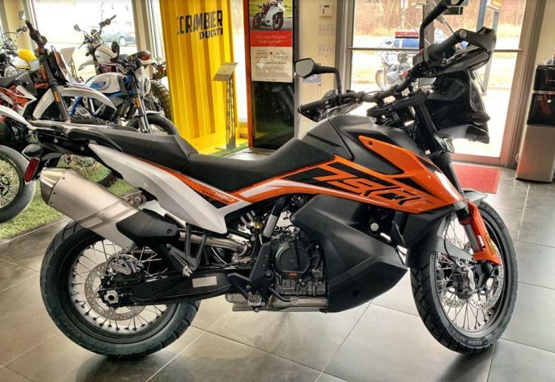 2020 KTM 790 Adventure