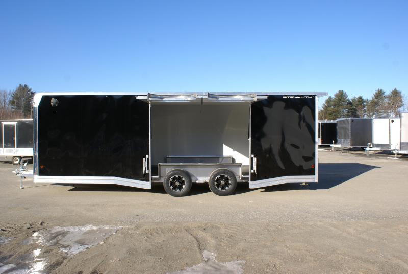 SUPER SPECIAL 2020 Alcom-Stealth STEALTH 24 CH-LM Car / Racing Trailer