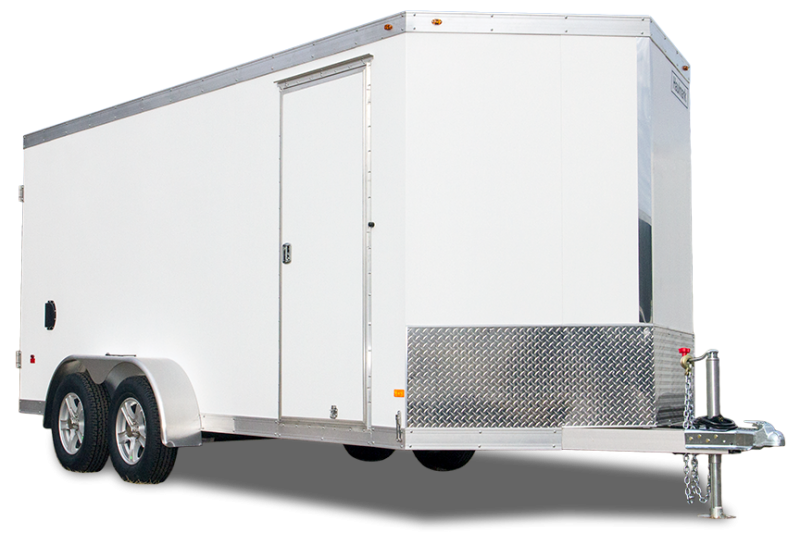 2020 ALL ALUMINUM HAUV7X16WT2 SNOWMOBILE Utility Trailer