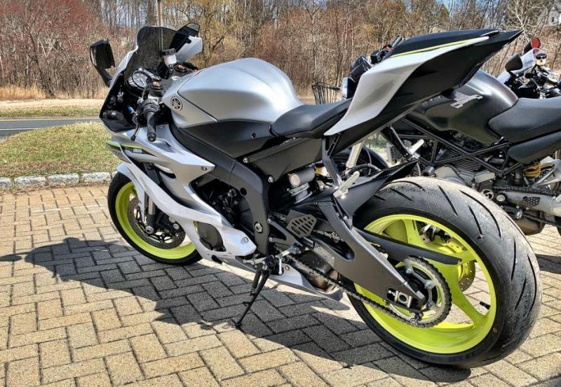 2017 Yamaha YZF-R6 - ONLY 141 Miles!