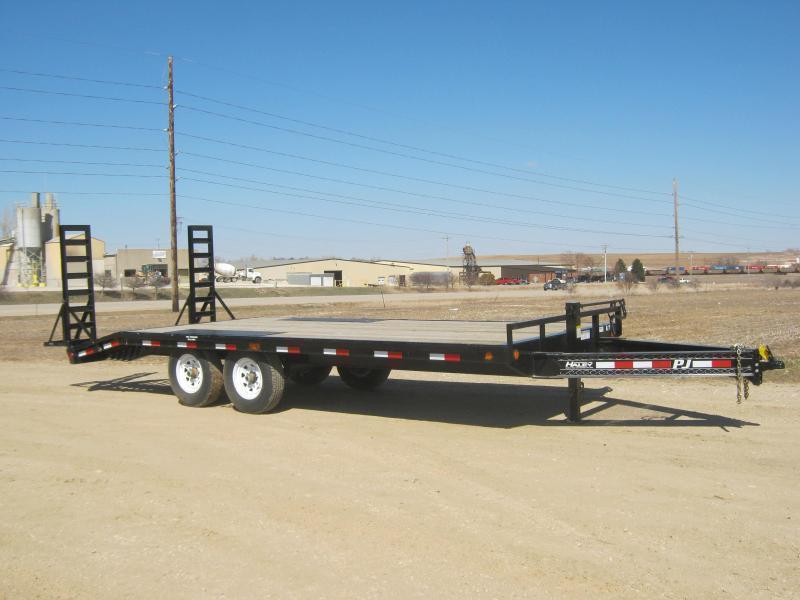 2020 PJ 20 I-Beam Deckover Equipment Trailer