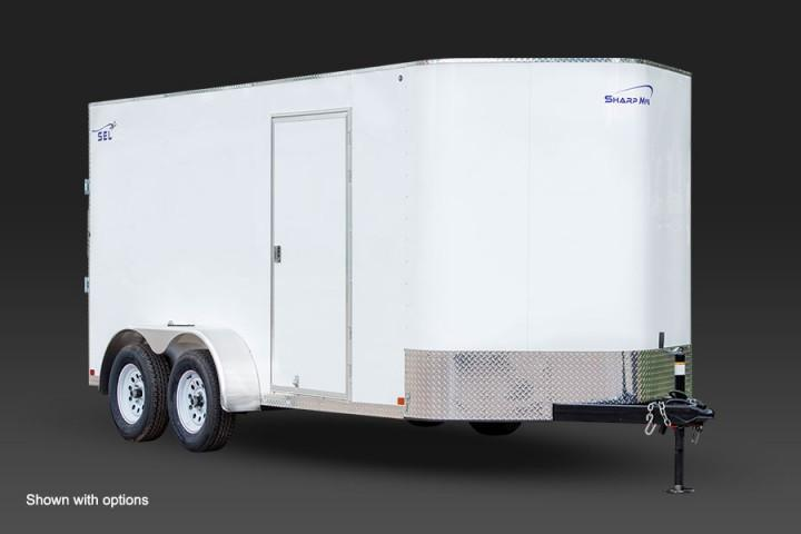 2019 Sharp 7x16 Enclosed Cargo Trailer