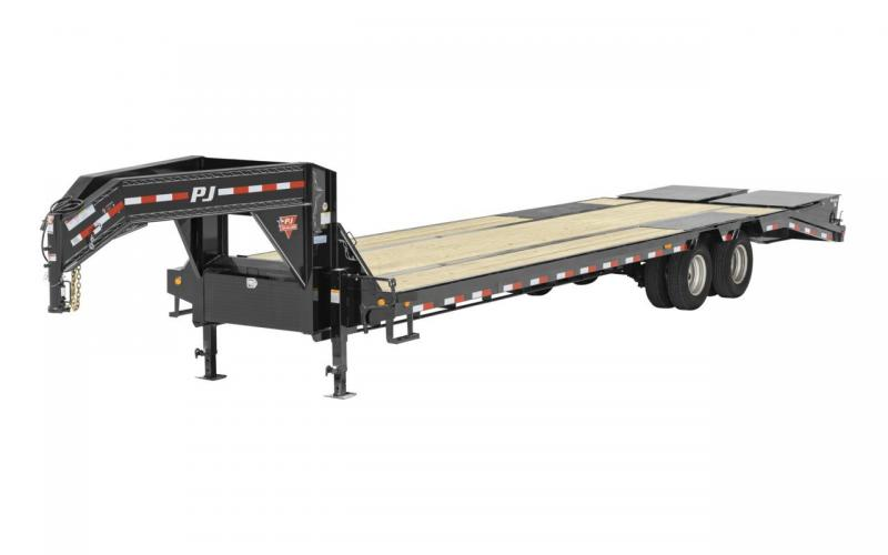 2020 PJ Trailers 25' GN Flatbed Trailer