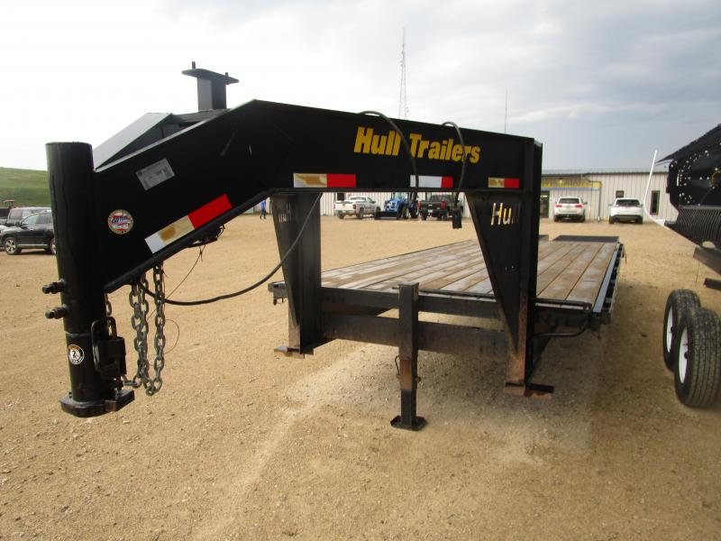 2013 Hull 25 GN Flatbed Trailer