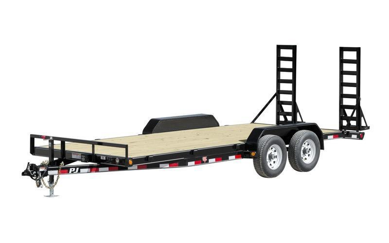 "2020 PJ Trailers 20' x 5"" Channel Equipment Trailer"