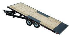 2020 PJ 22 Deckover Tilt Equipment Trailer