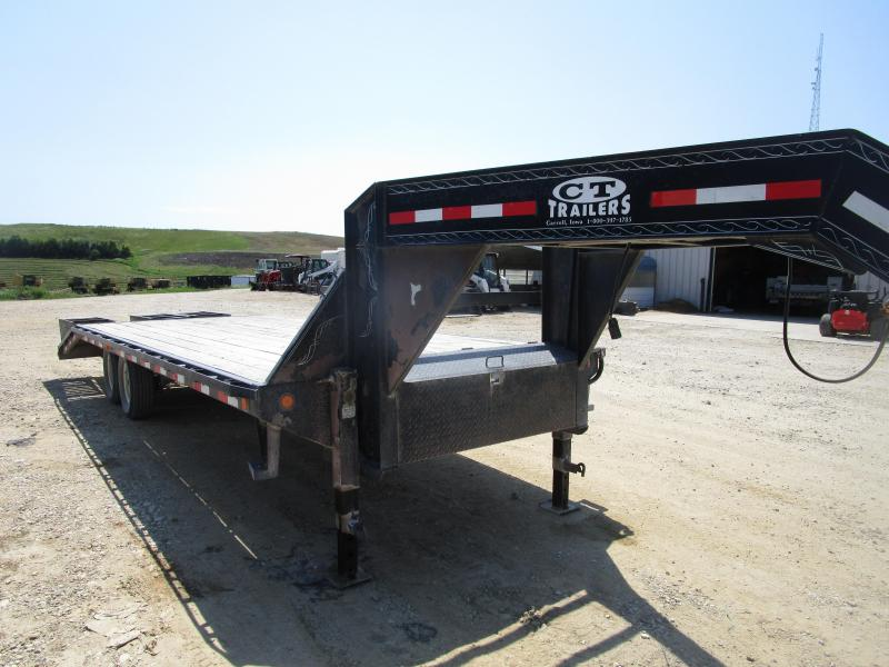 2007 PJ Trailers 25' GN Flatbed Trailer