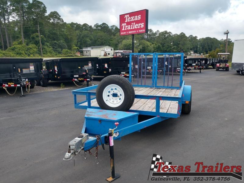 Used 2004 Carry-On 6X12 Utility Trailer with 5200# Axle and Brakes
