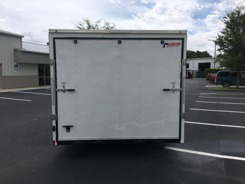 JV85X24TE3  BLACK  PACE AMERICAN 8.5'X24' ENCLOSED AUTO HAULER