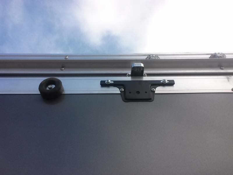 WAUV7X1422 WELLS CARGO 7X14 SILVER SPORT ALUMINUM ENCLOSED CARGO TRAILER W/ CUSTOM OPTIONS