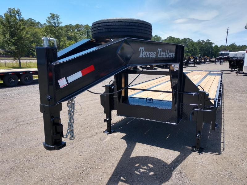 Fb4024g Texas Trailers 40 Gooseneck Deck Over Flatbed W