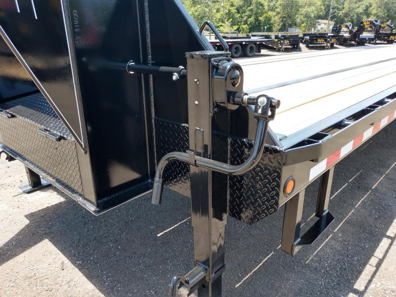 FB4024G TEXAS TRAILERS 40' GOOSENECK DECK OVER FLATBED W/ ELECTRIC-OVER-HYDRAULIC BRAKES