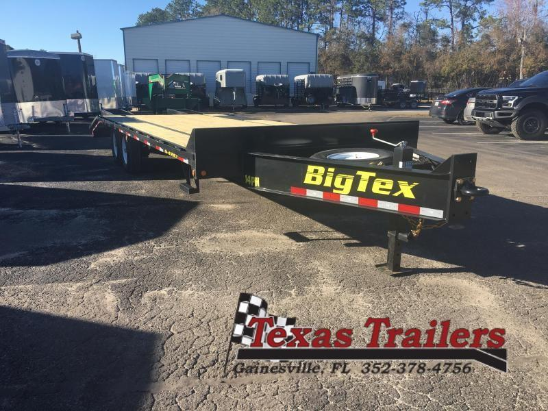 14PH-20BK+5 BIG TEX 25' FLATBED TRAILER
