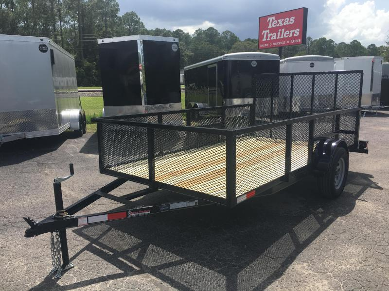 "LM61235 TEXAS TRAILERS 6'4"" X 12' LAWN MAINTENANCE TRAILER"