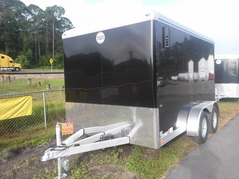 Cw1222 102 Wells Cargo 7x12 Cargo Wagon Enclosed Cargo