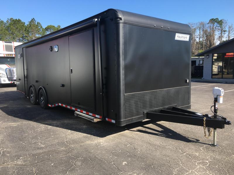 EGP8528T4 HAULMARK 28' EDGE PRO RACE TRAILER W/ CUSTOM OPTIONS