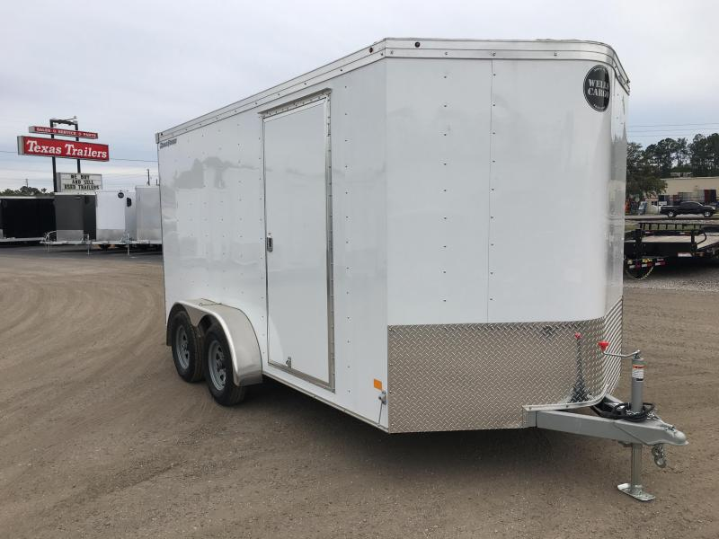 RFV7X142 WELLS CARGO 7X14 ROAD FORCE ENCLOSED CARGO TRAILER