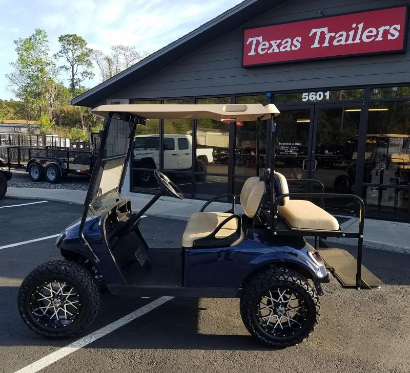 EZ-GO TXT 48 - Volt Electric Blue Golf Cart