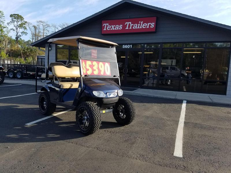 EZ-GO TXT 48 - Volt Electric Blue Golf Cart
